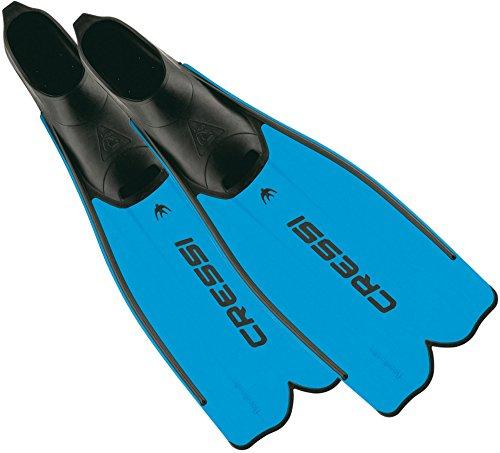 Cressi Unisex Flossen Rondinella, blau, 47/48, CA182047