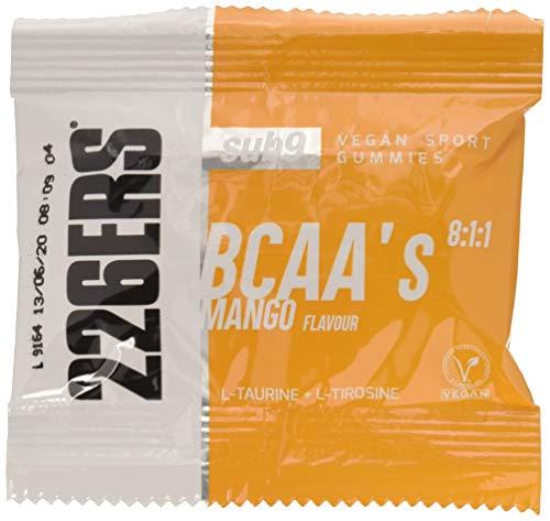 226ERS Vegan Sport Gummies - Gominolas Energéticas con BCAAs 8:1:1, Mango -...