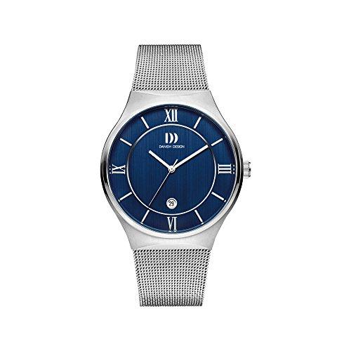 DANISH DESIGN Reloj Analógico para Hombre de Cuarzo con Correa en Acero Inoxidable IQ68Q1240