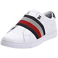 Tommy Hilfiger SLIP ON ELASTIC CASUAL, Women's Sneakers, White, 38 EU