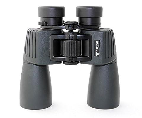 TS Optics Fernglas 10x50 WP - Wasserdicht, Stickstoffgefüllt, TS1050WP