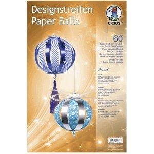Ludwig Bähr Bastelset Designstreifen Paper Balls Frozen