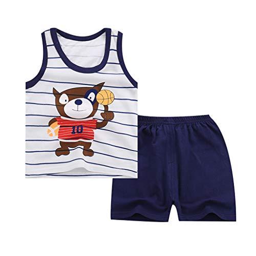 Camisetas Tirantes niño BBestseller 2pc Camisa Sin