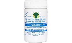 Premium Beef Bone Broth Concentrate Coconut Flavor - 100% Sourced from AU Grass-Fed, Pasture-Raised Cattle - Healthier Skin & Nails, Healthy Digestion - Bone Broth Collagen