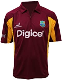 Official West Indies Cricket ODI One Day Replica Shirt Ladies by Woodworm