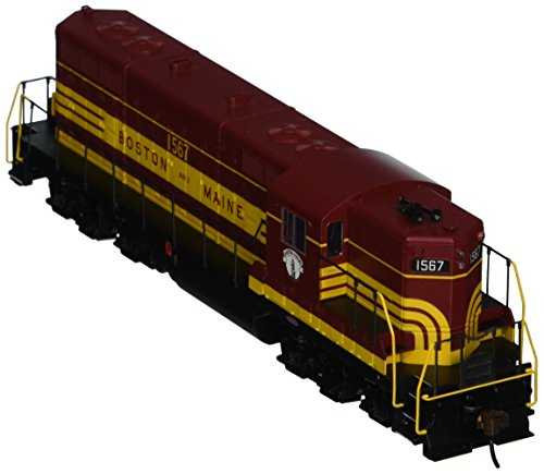 Bachmann Industries EMD GP7 DCC Boston & Maine #1567 Equipped Locomotive (HO Scale), Maroon