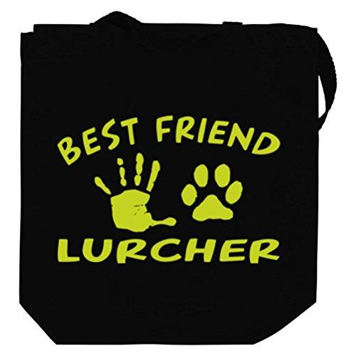 MY BEST FRIEND IS MY Lurcher Tote Bag