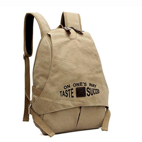 Canvas Tasche/Große Kapazität Rucksack/Schultaschen/Laptop-Tasche/College-Stil-Rucksack/Reisetasche-A B