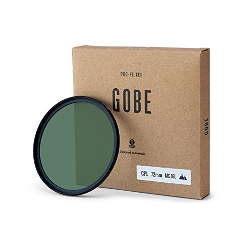 Gobe CPL 72mm JapanOptic 16-Schichtenmehrfach vergüteter Polarisationsfilter