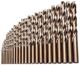 World2home M35 Cobalt Twist Drill Bit Set for Metal Wood Drilling 25pcs