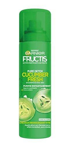 Garnier Fructis Champú en seco Pure Detox de pepino fresco, 150 ml