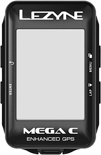 Lezyne GPS Mega Color Mixte Adulte, Black