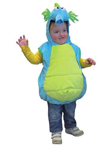it Kapuze, Kinder-Größe:104 (Seepferdchen Kostüm Kostüm)