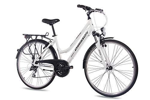 CHRISSON Citybike Damen City Bike Damenrad INTOURI im Test
