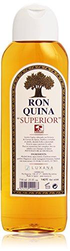 Luxina Ron Quina Superior Lotion Capillaire pour Brillance/Élasticité Antipelliculaire 750 ml