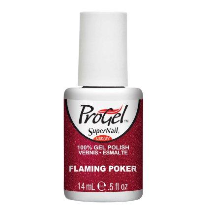 SuperNail ProGel Nagellack UV - Flaming Poker, 14 ml