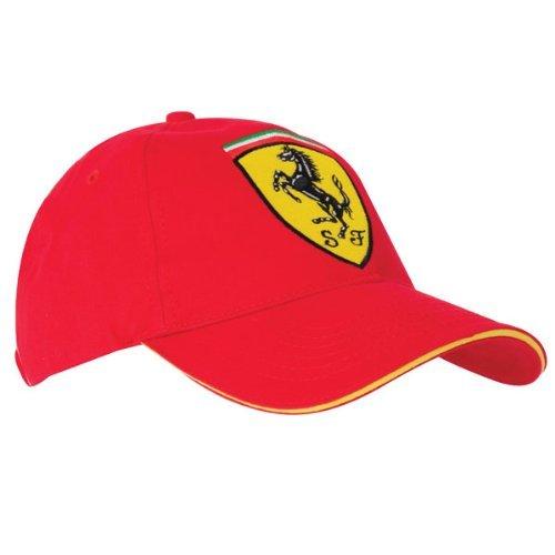 Ferrari Gorra Scudetto Rojo Única