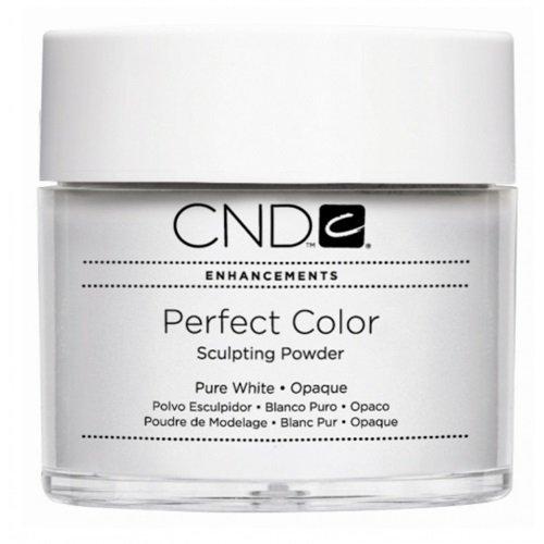 CND - Poudre De Modelage - Perfect Color - Pure White Opaque - 0.8oz / 22g