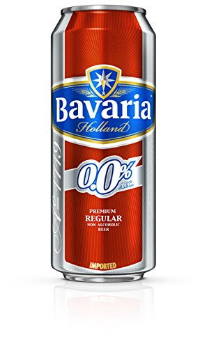 Bavaria Original Non-Alcoholic Malt Beverage (Imported), 500 ML [Pack Of 6]