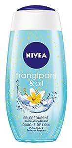 NIVEA 4er Pack Duschgel mit Pflegeöl-Perlen, Exotischer Duft, 4 x 250 ml Flasche, Frangipani & Oil