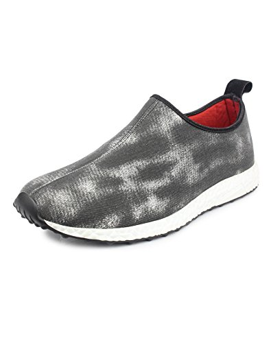 Pede Milan Activa Fabric Workout Sports shoes for Men (8 UK, Black)  available at amazon for Rs.399