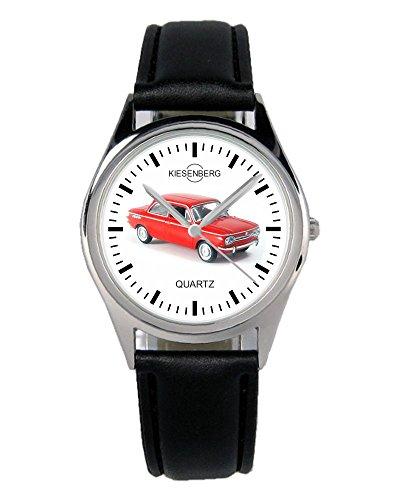 Geschenk für NSU TT Rot Oldtimer Fans Fahrer Kiesenberg Uhr B-1881