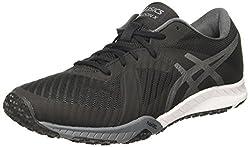 ASICS Mens Weldon X Black/Carbon/White Nordic Walking Shoes - 9 UK/India (44 EU)(10 US)