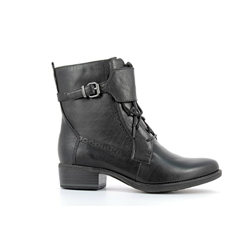 TAMARIS - Bottines en cuir femme TAMARIS - 25102-27 - Bottes / Bottines - 36 au 40 Black