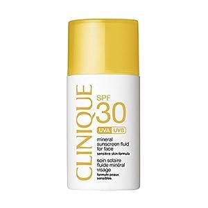 Clinique SPF 30 Mineral Sunscreen Fluid for Face crema de protección solar Cara 30 ml – Cremas de protección solar (Cara, 2 h, 30 ml, Protección, Universal, Botella)