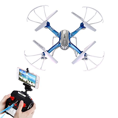 dairyshop d20W RC WiFi FPV Quadcopter 2.4G 6Achse 4CH 2.0MP Kamera Drone 3D Rollover RTF