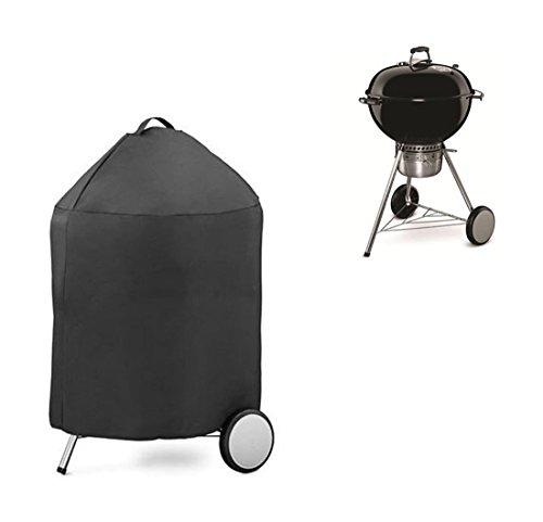 Barbecue Grillabdeckung Abdeckhaube Schutzhülle BBQ Cover Rund Wasserdicht 71cm