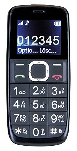 SWITEL M170 1 77  76g Negro Tel  fono para personas mayores - Tel  fono m  vil  Barra  4 5 cm  1 77    800 mAh  Negro
