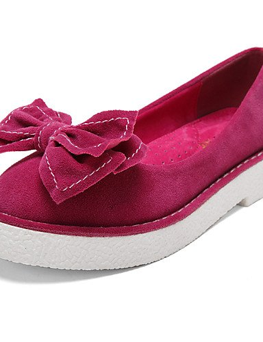 ZQ Scarpe Donna - Mocassini - Formale / Casual - Comoda / Punta arrotondata / Chiusa - Plateau - Scamosciato -Blu / Giallo / Rosa / Viola / , purple-us8.5 / eu39 / uk6.5 / cn40 , purple-us8.5 / eu39 / blue-us5 / eu35 / uk3 / cn34