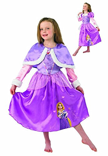 Rubie's 3889546 - Kostüm für Kinder - Rapunzel Winter Wonderland, S (Winter Wonderland Fancy Dress Kostüm)