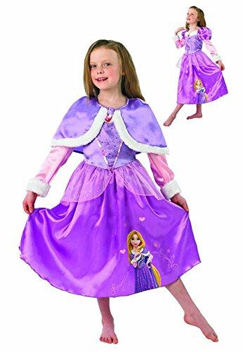 Wonderland Kinder Winter Kostüm - Rubie's 3889546 - Kostüm für Kinder - Rapunzel Winter Wonderland, S