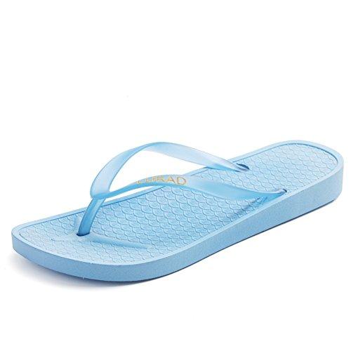 Puro colore semplice signora pantofole/Sandali e pantofole in estate/Sandali da bagno B