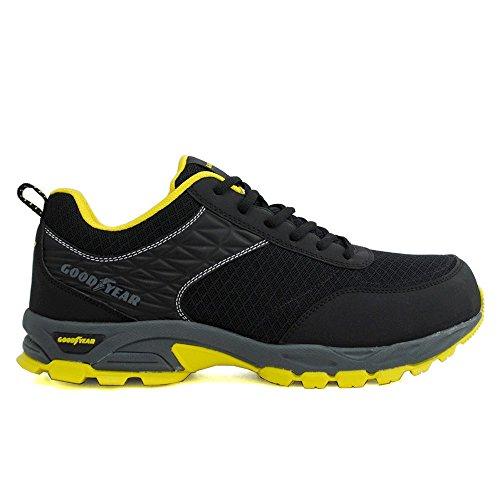 Goodyear S1P SRA HRO Sicherheitsschuhe Arbeitsschuhe Sneaker - 100% Metallfrei Gr. 44