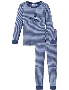 Schiesser Jungen Zweiteiliger Zirkus Strong Boy Kn Schlafanzug Lang