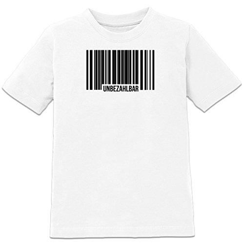 Unbezahlbar Barcode Kinder T-Shirt by Shirtcity (Mädchen T-shirt Unbezahlbar)