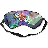 Sleep Eye Mask Colorful Bird Lightweight Soft Blindfold Adjustable Head Strap Eyeshade Travel Eyepatch preisvergleich bei billige-tabletten.eu
