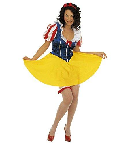 *** SONDERANGEBOT *** KOSTÜM - ZWERGENPRINZESSIN - Größe 34/36 (Zwerge Halloween Erwachsene Kostüme 7 Für)