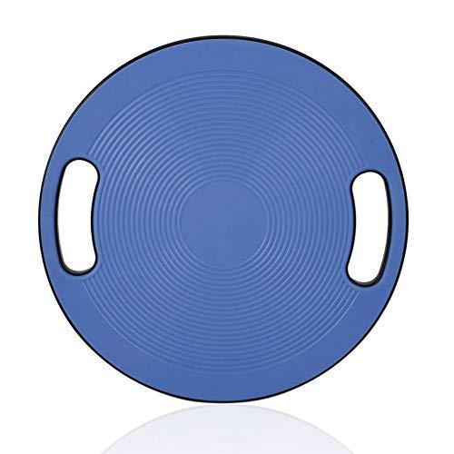 CreameBrulee Yoga Massage Antiskid Gleichgewicht Disc Wobble Stabilität Balance Board Runde Platte