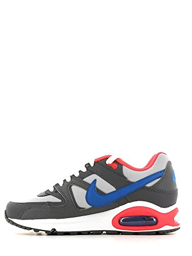 Nike Air Max Command (Gs) 407759 Jungen Laufschuhe Grau/Anthrazit/Blau-Orange