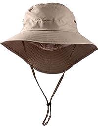 UCEC Sombrero Pescador Verano de ala Ancha Pleagable y Impermeable, con Protección Solar FPU 50, Perfecto para Actividades Recreativas al Aire Libre, Playa, Safari, Pesca, Excursionismo, Unisex