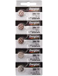 Energizer 386–301ts Knopfzelle 386-Oxid