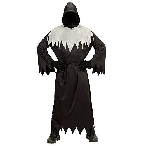 WIDMANN- Ghoul Disfraz para niños, Color Negro, M (00167)
