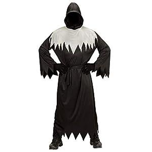 WIDMANN- Ghoul Disfraz para niños, Color Negro, S (00166)