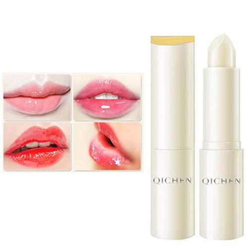 Natürliche Formel Lippenbalsam (Weixinbuy Honey Lip Balm feuchtigkeitsspendende glatte feine Linien Aufhellen der Lippenfarbe Antitrocknende Lippencreme)