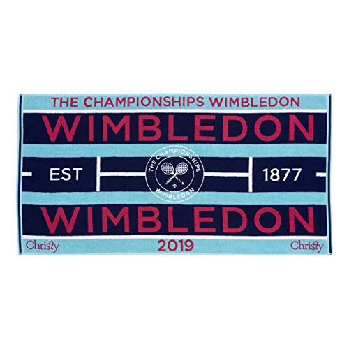 Wimbledon Lady Tennis Towel 201 Von Christy