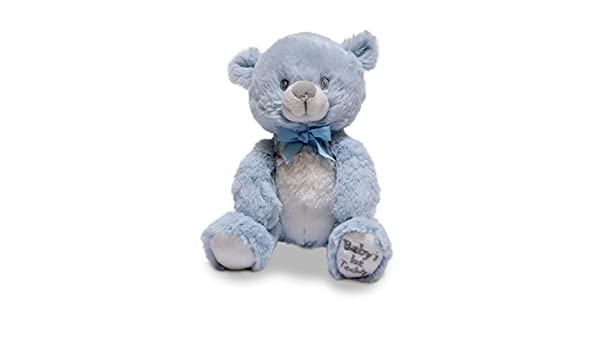 "Plays Lullaby Mary Had a Little... Cuddle Barn Babys First Teddy 6/"" Squeezers"